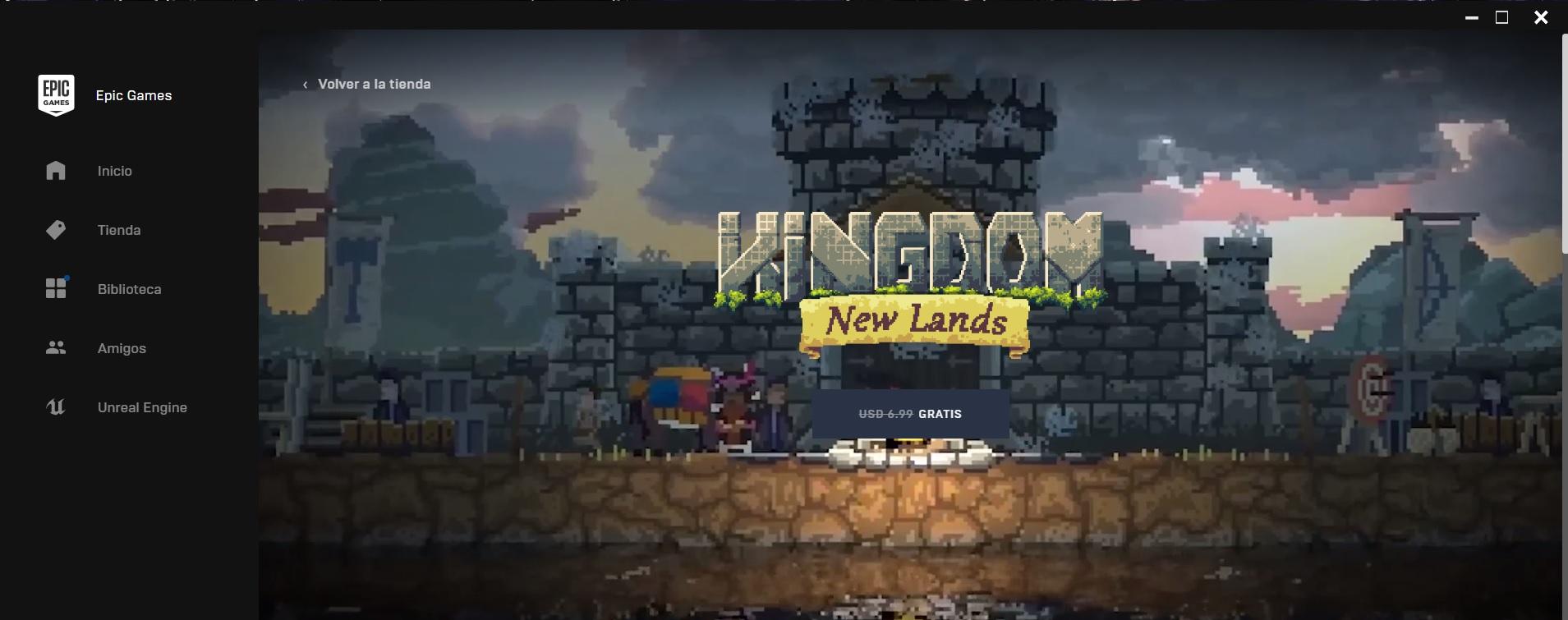 Kingond new lands