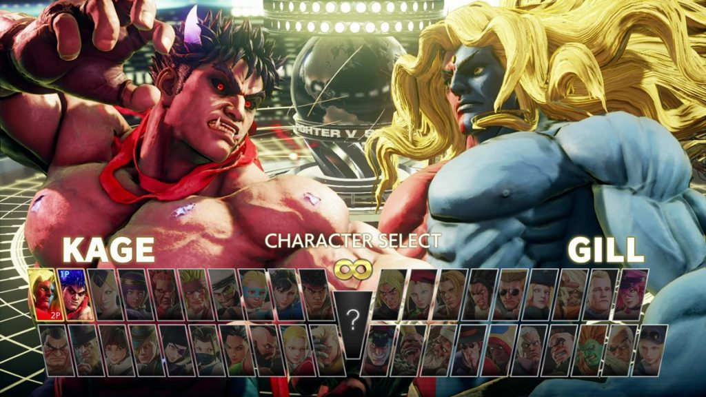 Street-Fighter-V-Champion-Edition Characters