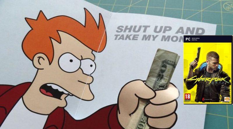 TAKE MY MONEY CYBERPUNK 2077