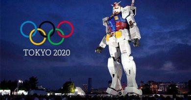 A giant robot will stroll through the streets of Tokyo and will be the sensation in the 2020 Olympics