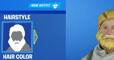 character creation fornite