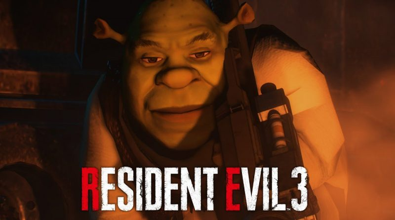 Does Nemesis scare you? Mod for Resident Evil 3 changes it to Shrek