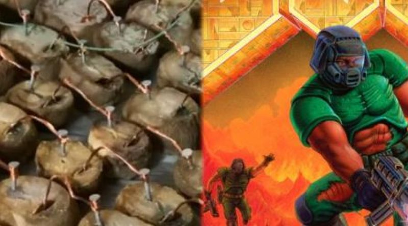 Fan manages to run DOOM thanks to the power of hundreds of potatoes