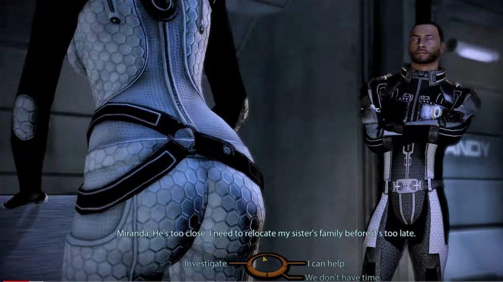 Mass Effect Legendary Edition camera